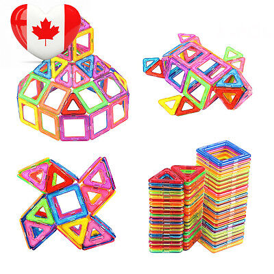 AMOSTING Magnetic Blocks Building Educational Toys Construction Stacking...