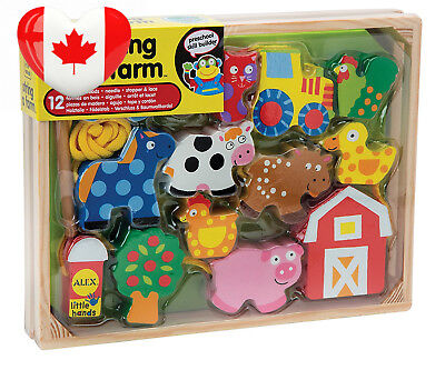 ALEX Toys - Early Learning String A Farm Little Hands 1486F