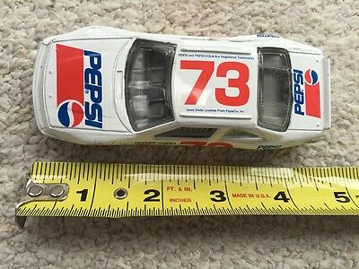 PESPI Die Cast Advertising Toy Racing Car Number 73 Some Scratches