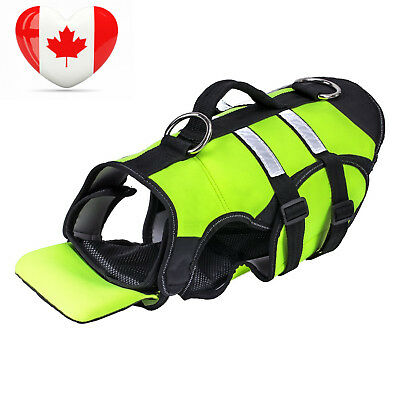Pawaboo Dog Life Jacket, Duarable Adjustable Soft Padded Reflective Neoprene...