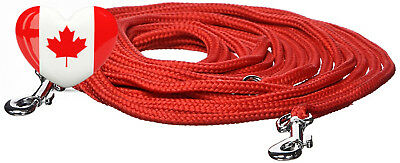 Catit Nylon Cat Tie-out, 20-Feet, Red