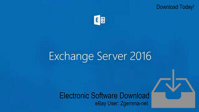 Microsoft Exchange Server 2016 Standard Edition - With 5 User Cals