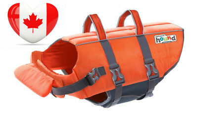 Outward Hound Kyjen 22021 Ripstop Dog Life Jacket Quick Release Easy-Fit...