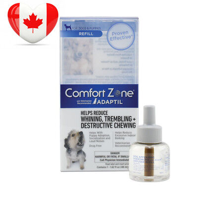 Comfort Zone Adaptil Diffuser Refill, 1 Pack, For Dog Calming