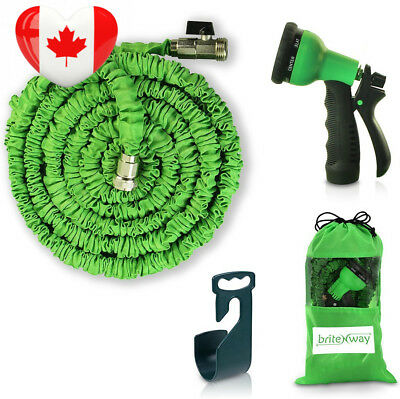 Expendable Garden Hose - 50 Ft Retractable, Lightweight & Flexible 8 Pattern...