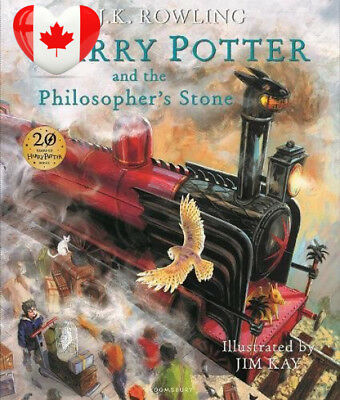 Harry Potter and the Philosopher's Stone: Illustrated Edition Hardcover –...
