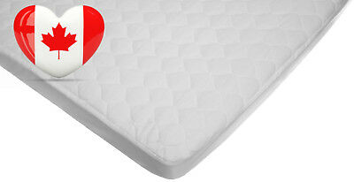 American Baby Company 2761 Waterproof Fitted Quilted Porta-Crib Mattress Pad...