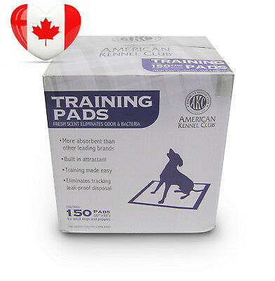 American Kennel Club Training Pads in a Box, 150-Pack