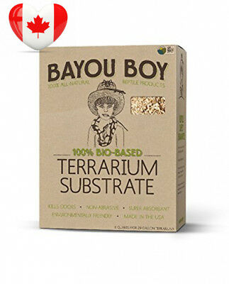 Bayou Boy All Natural Reptile Bedding Bag, 8-Quart