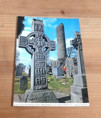 Celtic Cross And Round Tower, Monasterboice. Co Louth