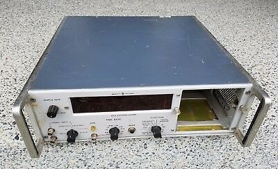 HP 5243L Electronic Frequency Counter Vintage; Nixie Tubes (will fit 5245L)