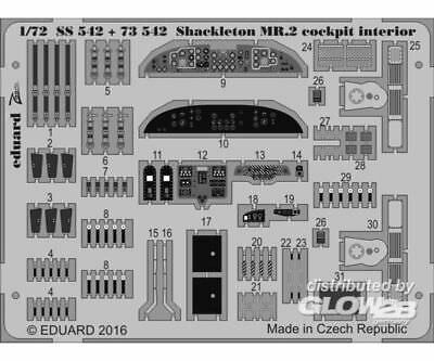 Eduard Accessories 73542 Shackleton MR2 for Airfix in 1:72