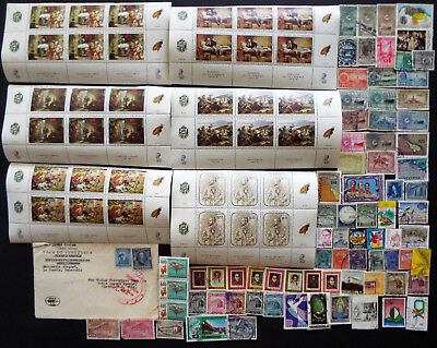 Collection Of Stamps From Venezuela