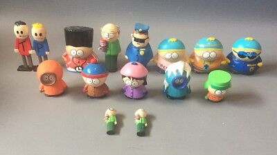 Vintage 1998 Bundle 15x Comedy Central South Park Characters & Figurines Job Lot