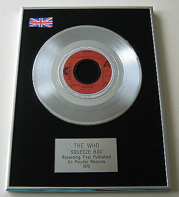 THE WHO Squeeze Box PLATINUM Single DISC Presentation