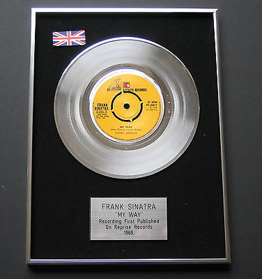 FRANK SINATRA My Way PLATINUM Single DISC Presentation