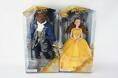 Disney Store Beauty And The Beast Film Collection Beast & Belle Doll