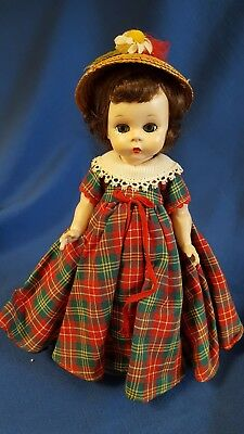 "Vtg Madame Alexander Doll 8"" Alexander-kins Apple Annie of Broadway 1953-54 SL"