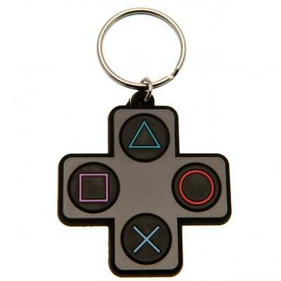 Playstation Keyring Button Key Chain PVC Fan Gift New Official Licensed Product