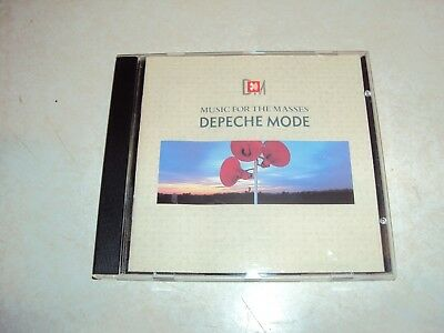 Depeche Mode Music For The Massess Rare Canadian Canada First Press Cd 1987