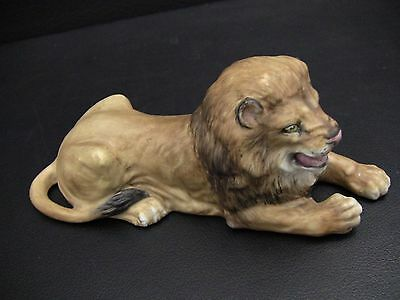 Rare Halcyon Days Wildlife Collection by Howard J. Wedgwood LION Figurine