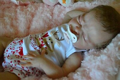 Strawberries'n'Cream~Reborn Baby Girl 'Nina by Adrie Stoete Ltd Ed #258