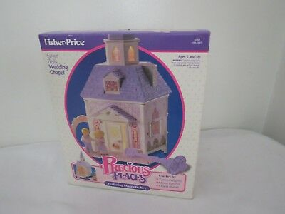Fisher Price Precious Places Wedding Chapel Vintage DollHouse - Complete MIB