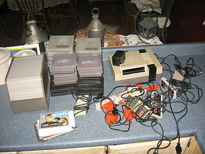 VINTAGE NINTENDO CONSOLE 36 GAMES 6 CONTROLLERS 2 ZAPPERS 1 DOCK free shipping