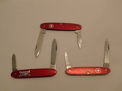 Swiss Army Wenger Patriot and Victorinox Pocket Pal Knife