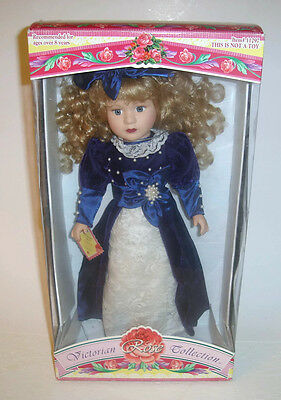 Victorian Rose Collection Porcelain Doll by Melissa Jane 1997 Ltd Ed #11297