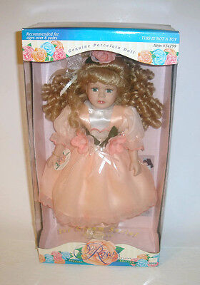 Victorian Rose Collection Porcelain Doll by Melissa Jane Special Edition #14799