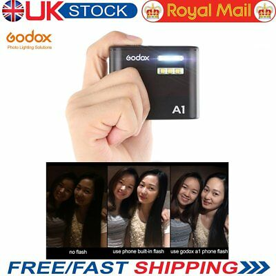 UK Godox A1 Flash & APP Control Transmitter With IPhone For GODOX 2.4G X Flashes