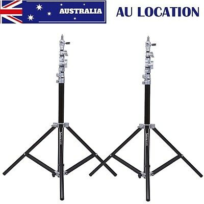 2PCS Selens Air Cushion Heavy Duty Light Stand 220cm 7.2ft SGT-2200A W/ Bag AU