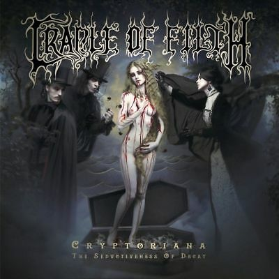 Cryptoriana: The Seductiveness of Decay CRADLE OF FILTH ltd dijipack  CD