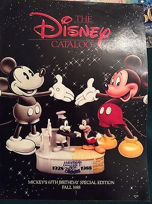 "Disney catalog, -Vintage ""Mickey's 60th birthday-Fall 1988"