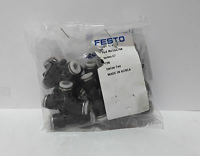 Festo QBT-1/4T-5 Push-in T connector (Bag of 10)