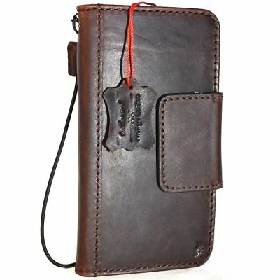genuine leather case for Google Pixel 2 book cards wallet cover magnetic holder