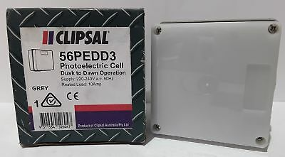Clipsal 56PEDD3 Photoelectric Cell Dusk till Dawn 240V 10A (Box of 1)