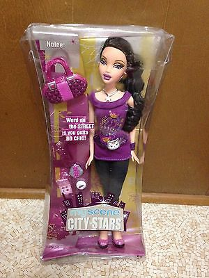 2006 Barbie My Scene Nolee City Stars Doll Rare