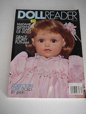 Doll Reader Magazine April 1993 Madame Alexander Doll Hospital repairs how to