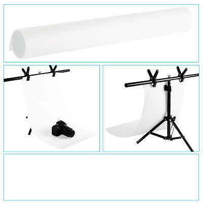 "Neewer White 16x30"" Seamless PVC Backdrop Background Paper f Photo Video Studio"