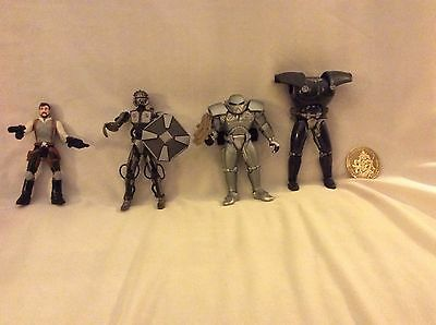 Star Wars Kyle Katarn And New Loose Dark Trooper Figures Phase 1, 2, Part Of 3