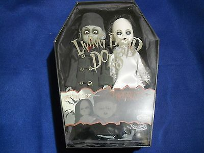 Living Dead Dolls Exclusive 2 Pack Nosferatu And Victim Ldd Gothic As New