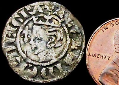 b7: Scottish Alexander III Medieval Hammered Silver Penny, rarer PERTH Mint
