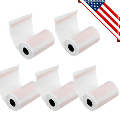 5 Rolls Thermal Printer Printing Paper for ECG EKG Electrocardiograph 80mmx20m