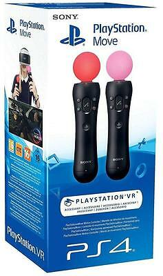 Sony PlayStation Move Motion Controller Twin Pack (PS4/PSVR) Bluetooth