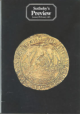 Sotheby's Preview - 1981 - 1983 : Seven Issues - Antiques Art Auctions Sales