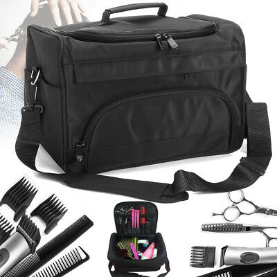 Professional Hair Stylist Salon Barber Hairdressing Scissor Comb Tool Makeup Bag