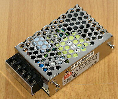 Meanwell RS-25-24 SMPSU 24VDC 24V Output Power Supply 120 or 240VAC Input