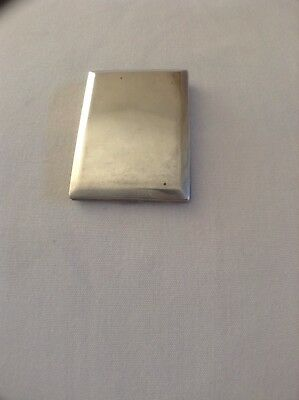 Solid Silver Antique Match Case Hallmarked London 1933
